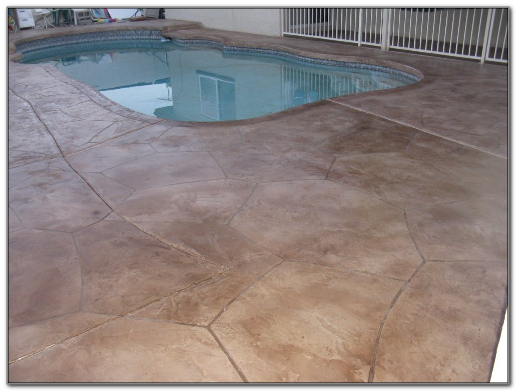 Ideas For Concrete Pool Decks