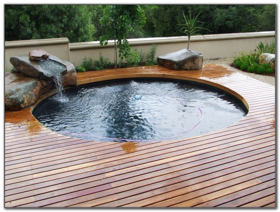 Ideas For Small Pool Decks