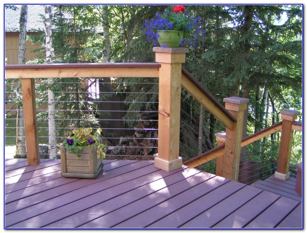 Inexpensive Deck Railing Ideas