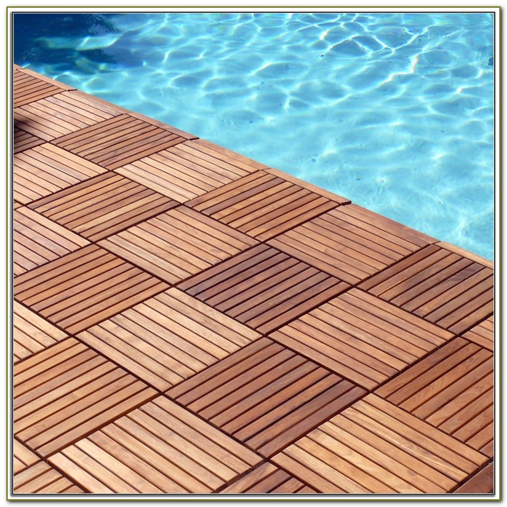 Interlocking Rubber Floor Tiles Wood