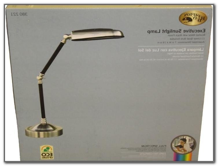 Lights Of America Executive Sunlight Desk Lamp