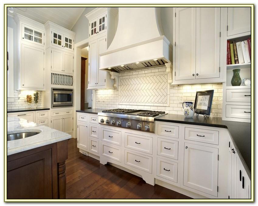 Marble Subway Tile Backsplash Kitchen