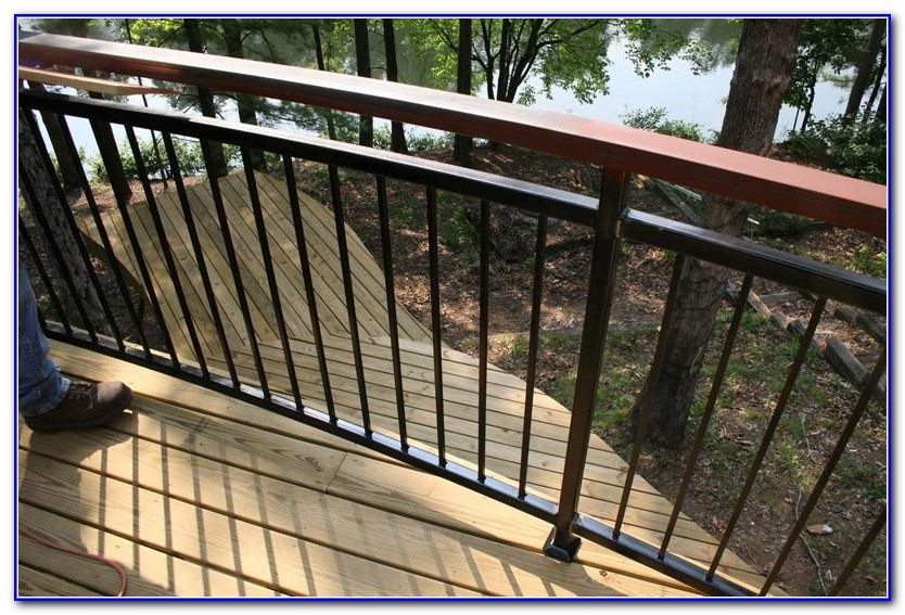 Metal Deck Railings Do It Yourself