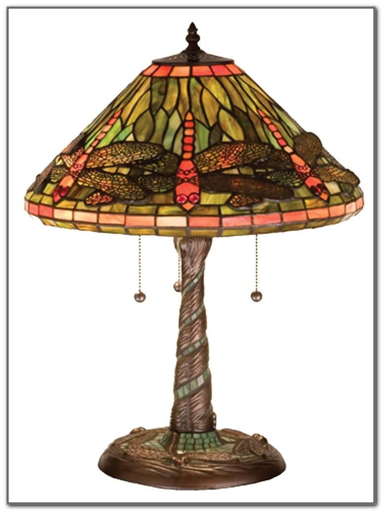Meyda Tiffany Dragonfly Table Lamp