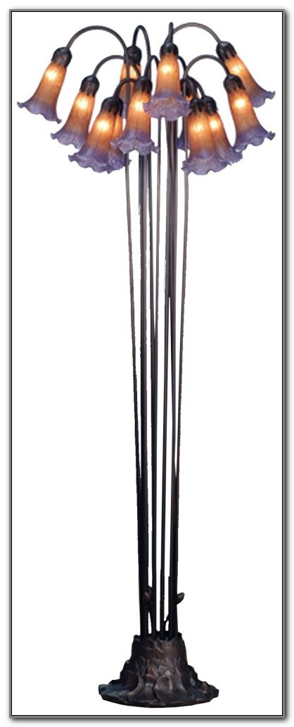 Meyda Tiffany Lily Floor Lamp