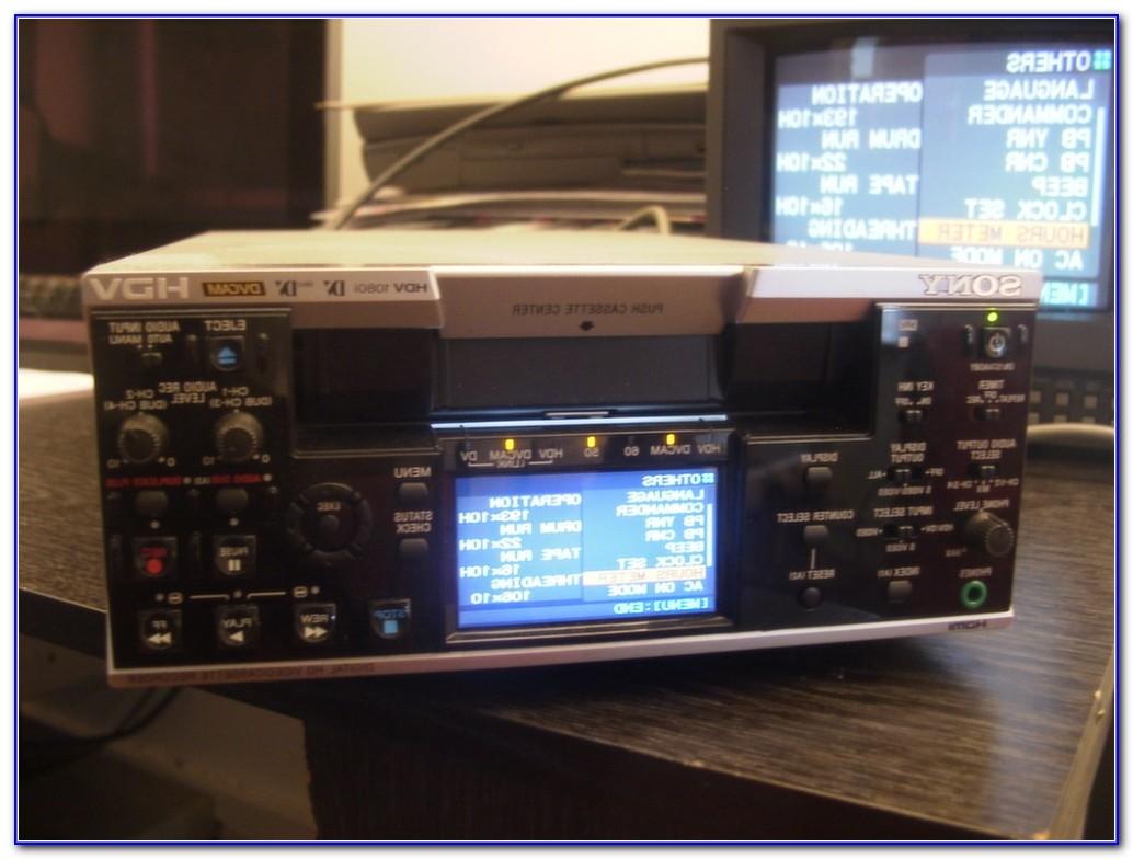 Mini Dv Tape Deck Player