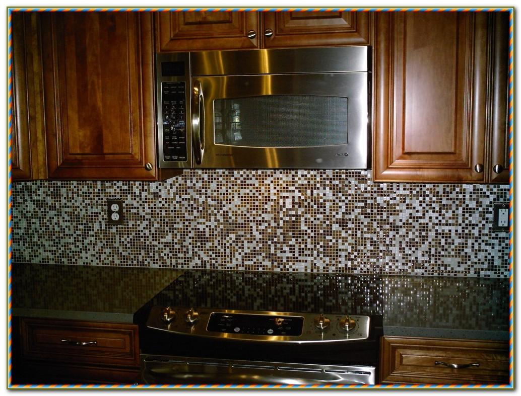 Mosaic Glass Tile Backsplash Ideas