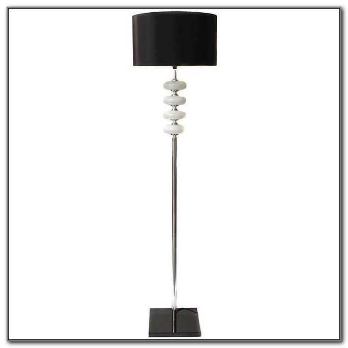 Multi Head Floor Lamp White