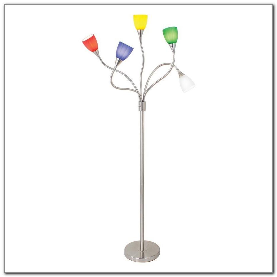 Multi Head Floor Lamp