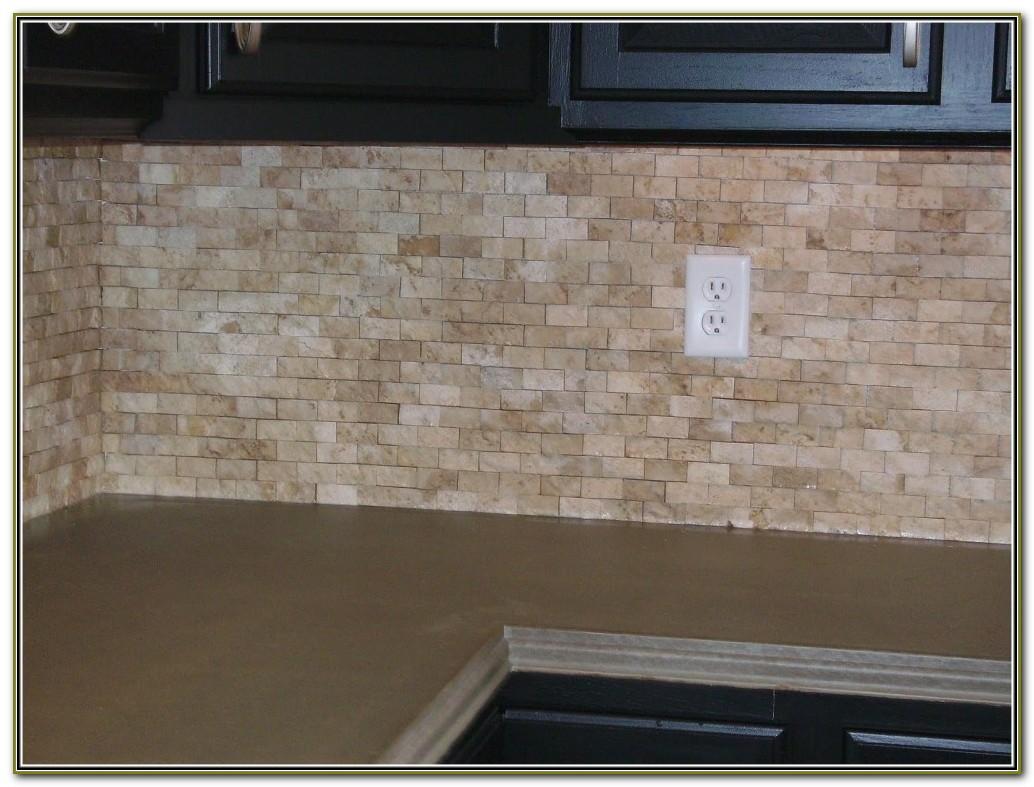 Natural Stone Tile Backsplash