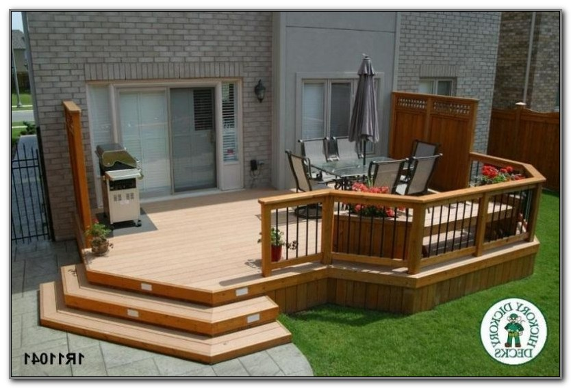 One Level Deck Designs
