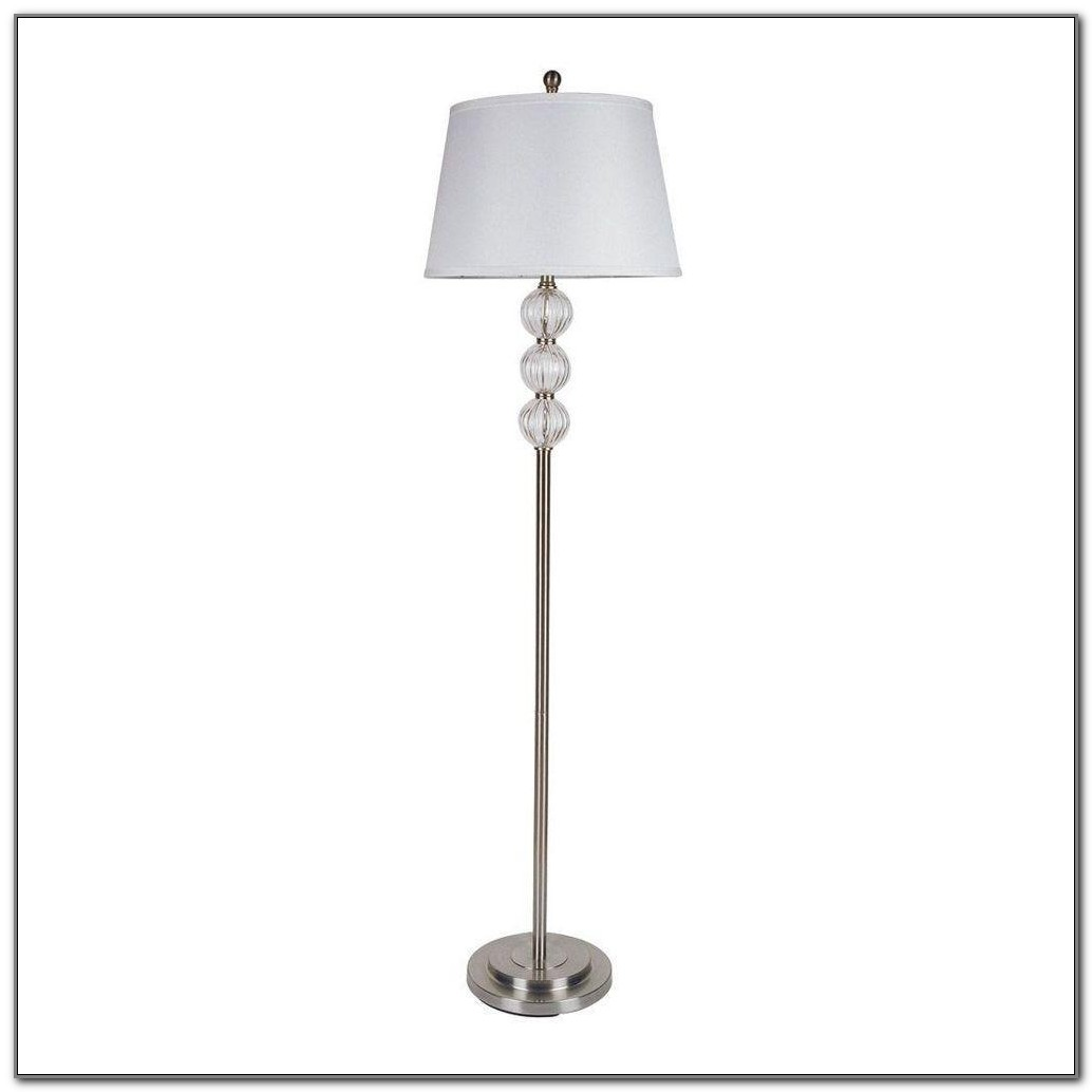Ore International 6866g Floor Lamp Polished Brass