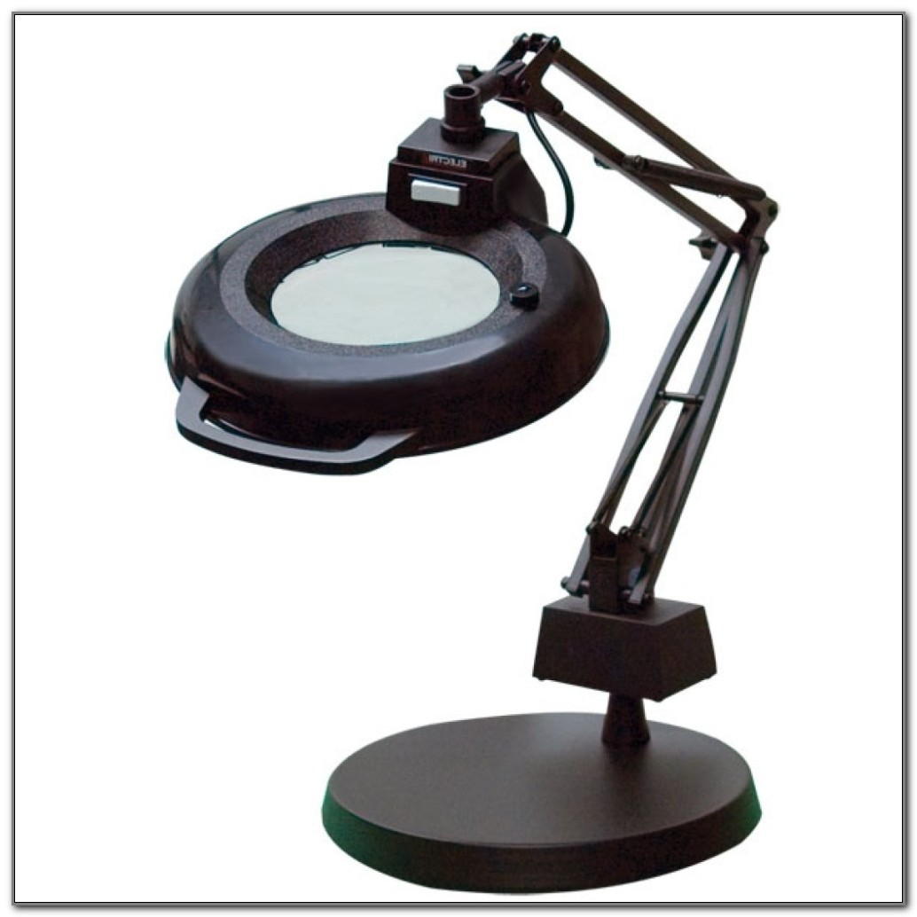 Ott Light Table Lamp With Magnifier