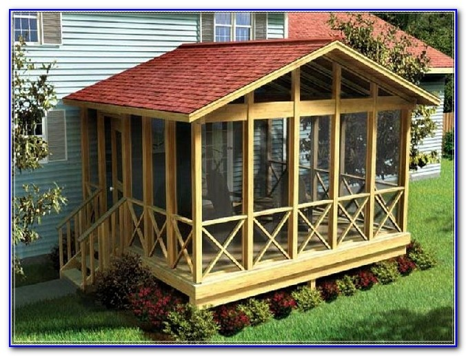 Outdoor Covered Deck Designs