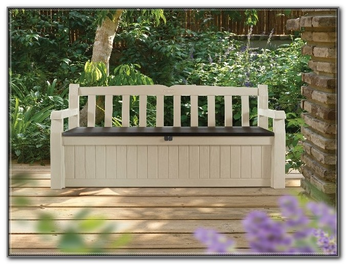 Outdoor Deck Box Bench