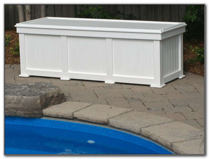Outdoor Deck Storage Containers