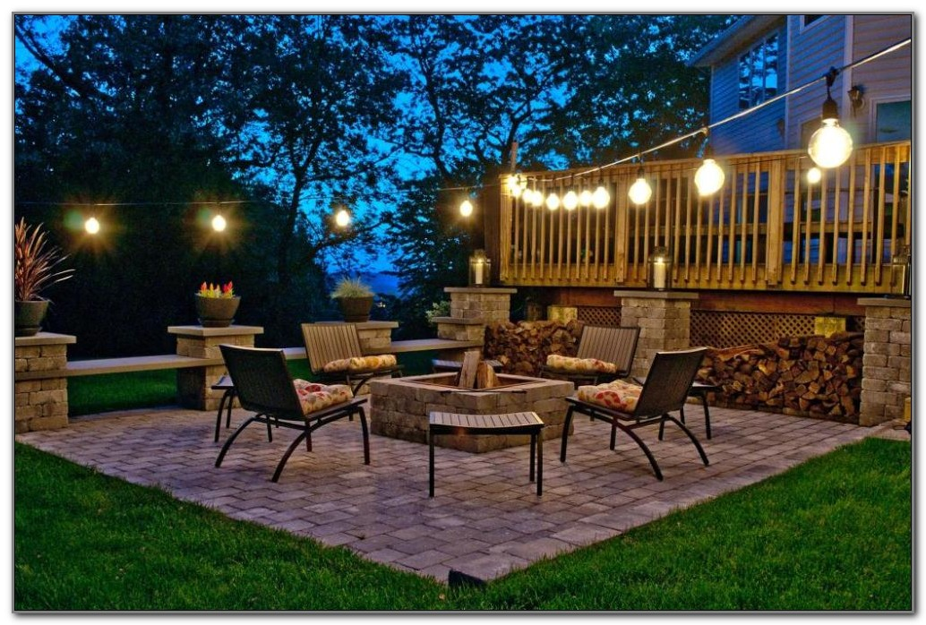 Outdoor Deck String Lights