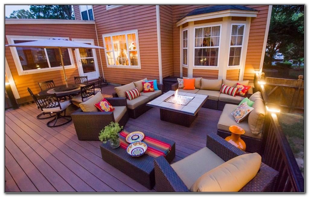 Outdoor Gas Fireplace For Deck
