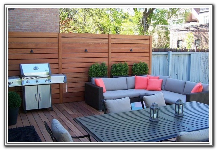 Outdoor Privacy Blinds For Decks
