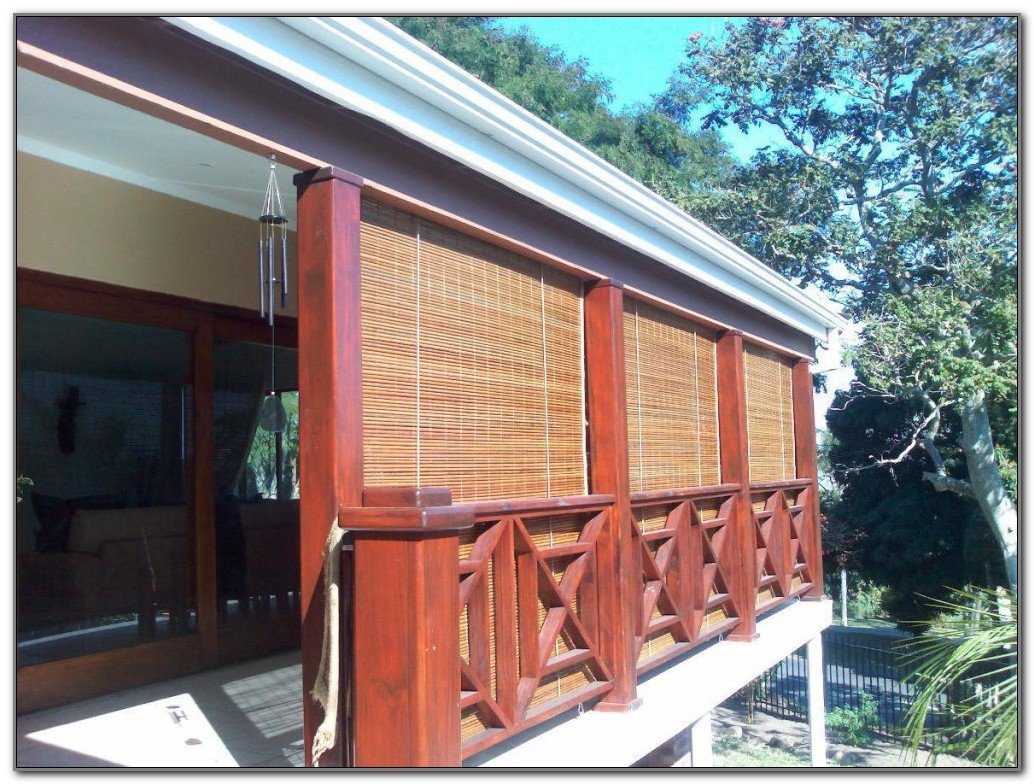 Outdoor Privacy Shades For Screened Porch