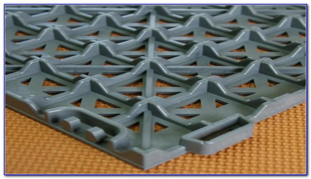 Outdoor Rubber Deck Tiles