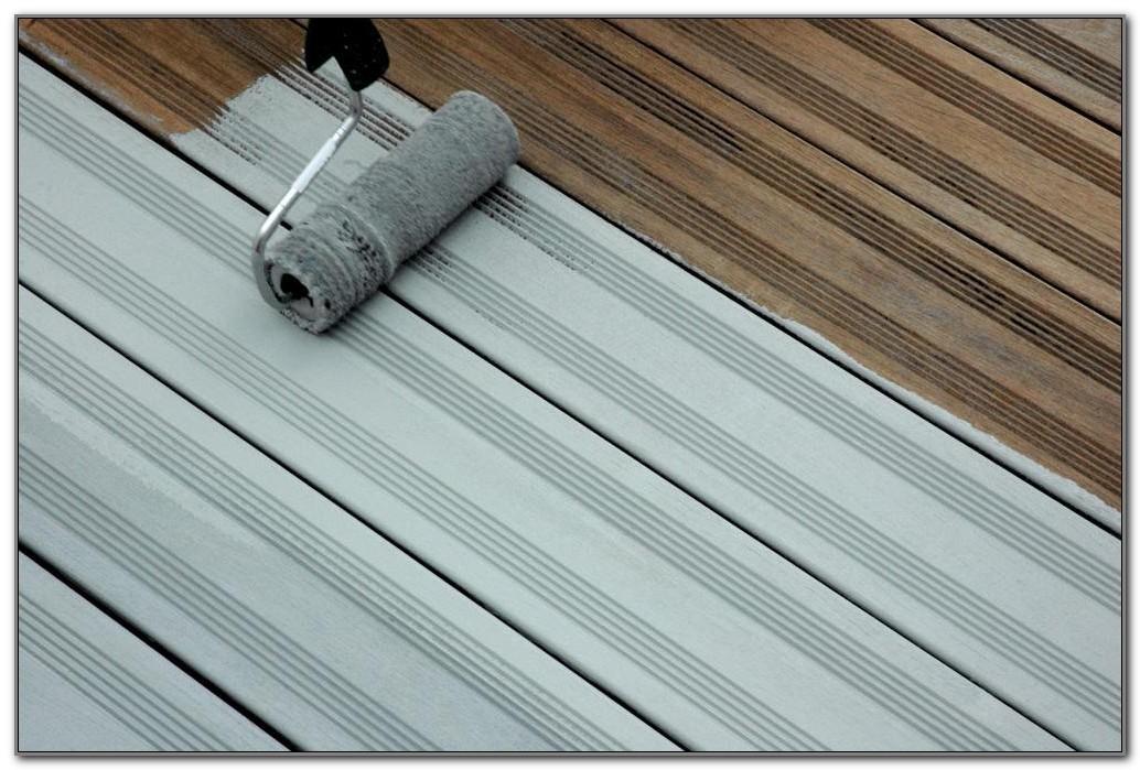 Paint For Wood Decks