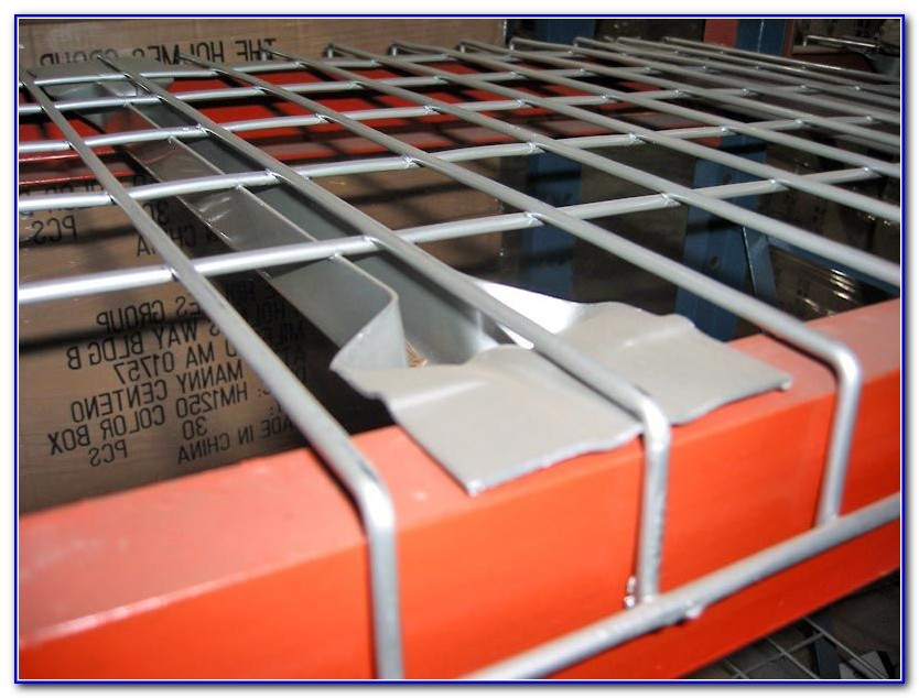 Pallet Rack Wire Decking Used