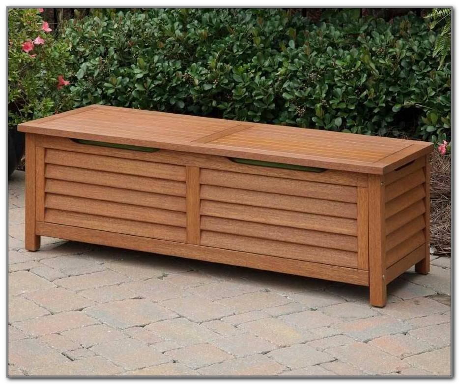Patio Deck Storage Bench
