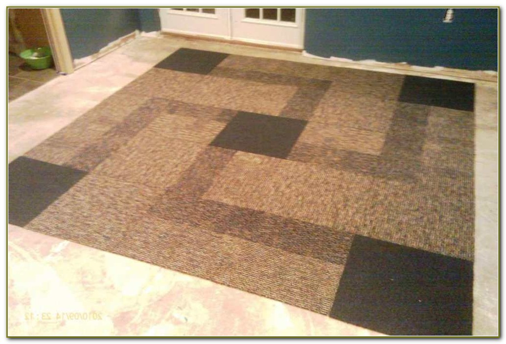 Peel And Stick Carpet Tiles