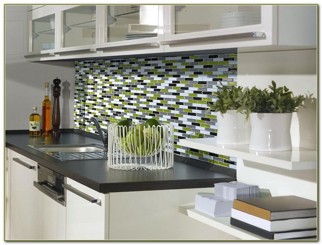 Peel And Stick Mosaic Tile Backsplash Kit