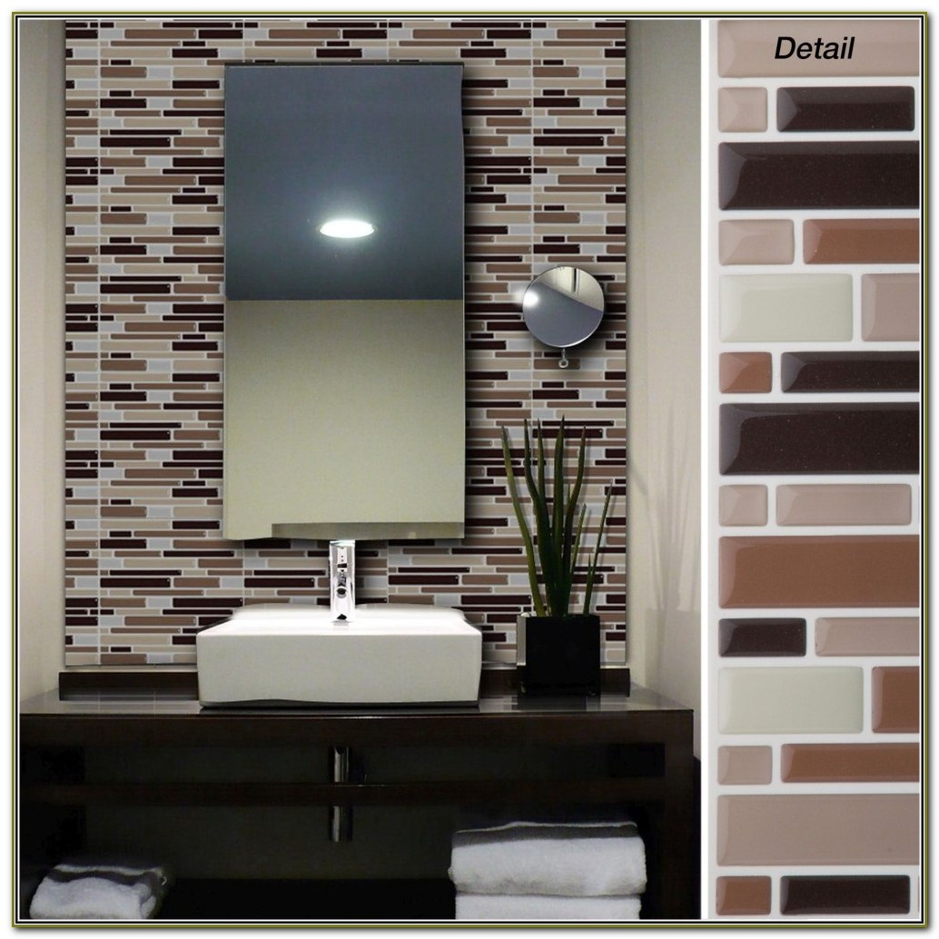 Peel And Stick Wall Tiles For Bathroom