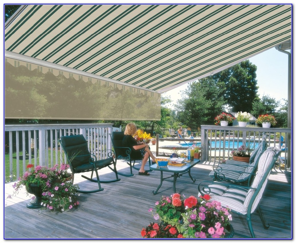 Permanent Awning For Deck