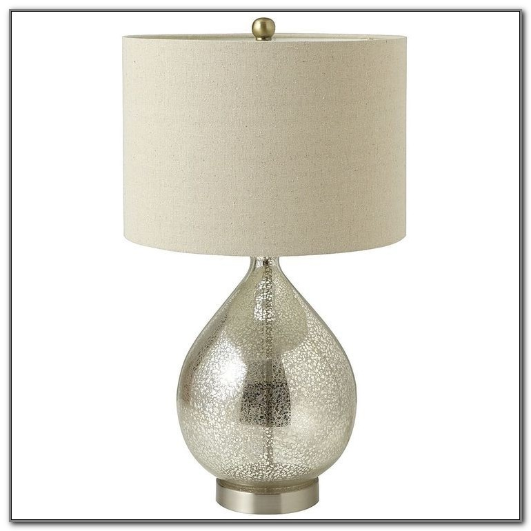Pier 1 Glass Table Lamps