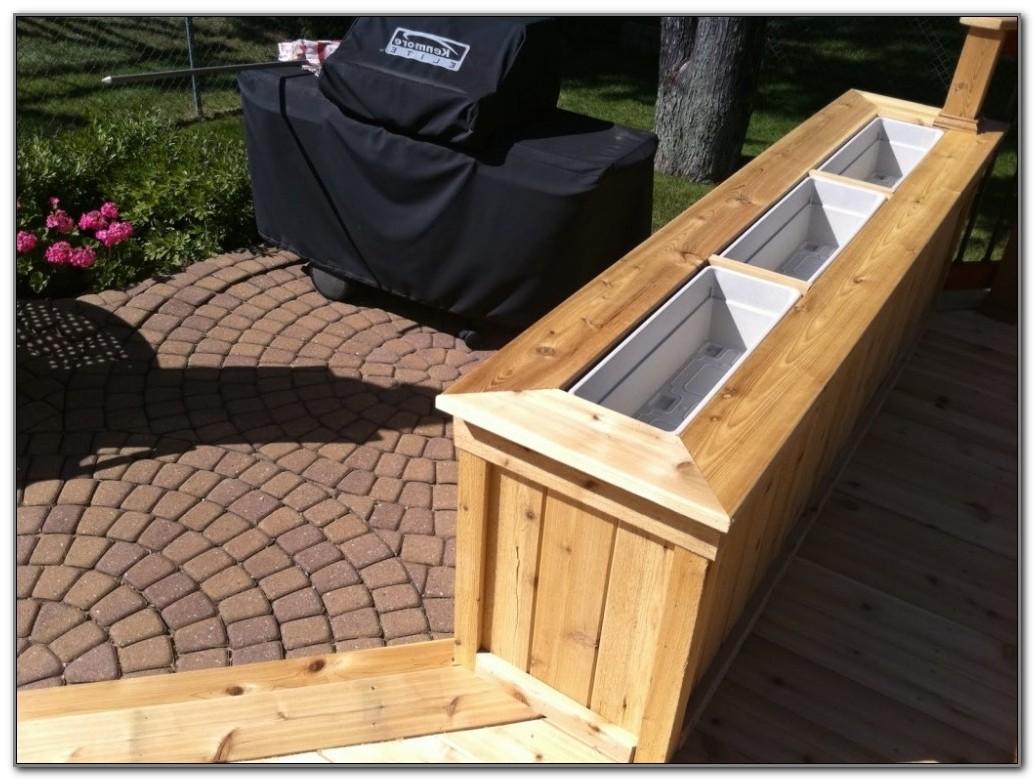 Planter Boxes For Decks