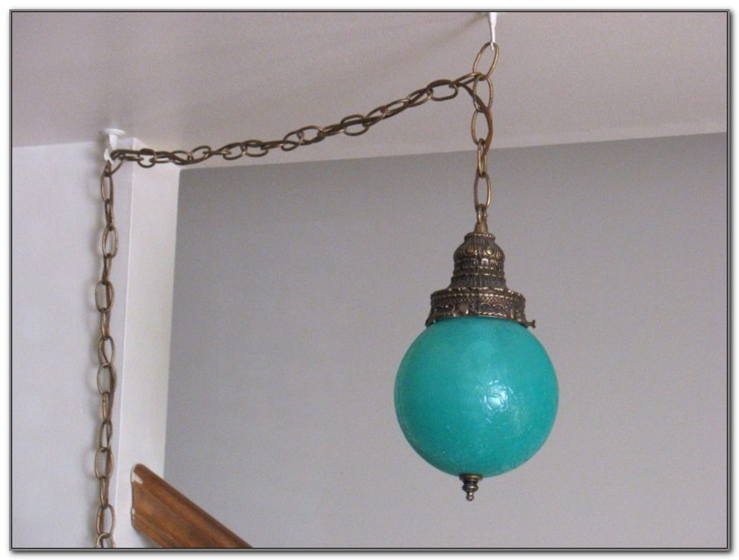 Plug In Swag Lamps Ebay