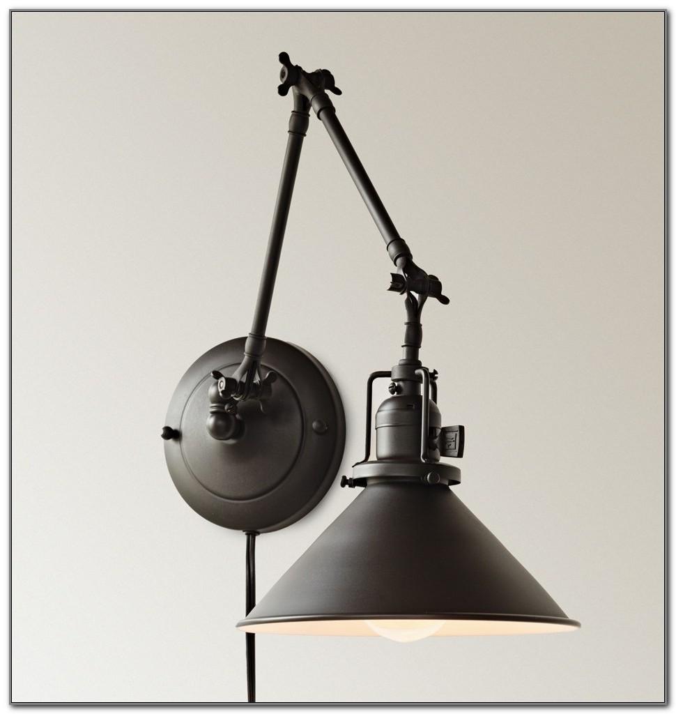 Plug In Swing Arm Wall Light