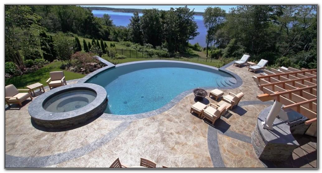 Pool Deck Paint Ideas