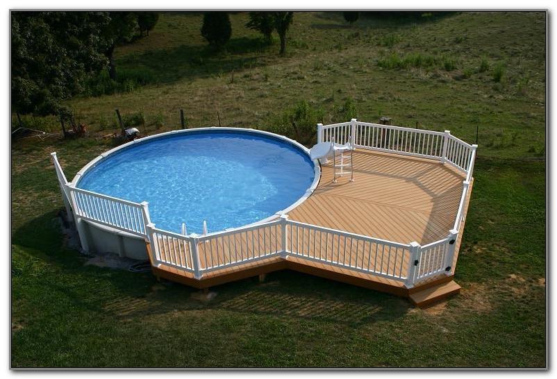 Pool Wood Decks Above Ground