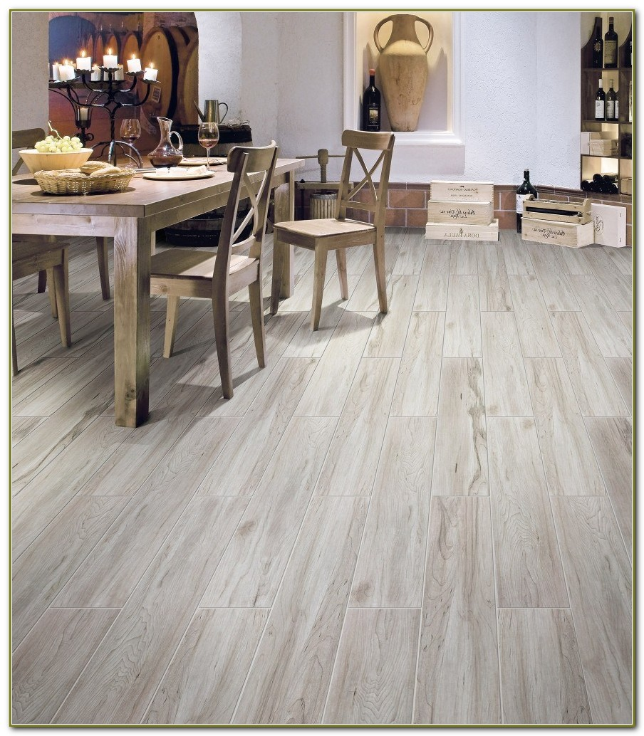 Porcelain Tile Flooring Wood Look