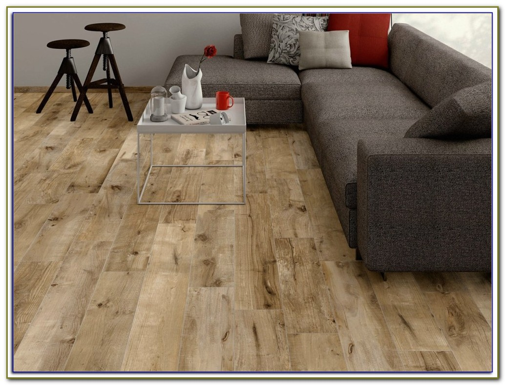 Porcelain Tile Planks Look Like Wood
