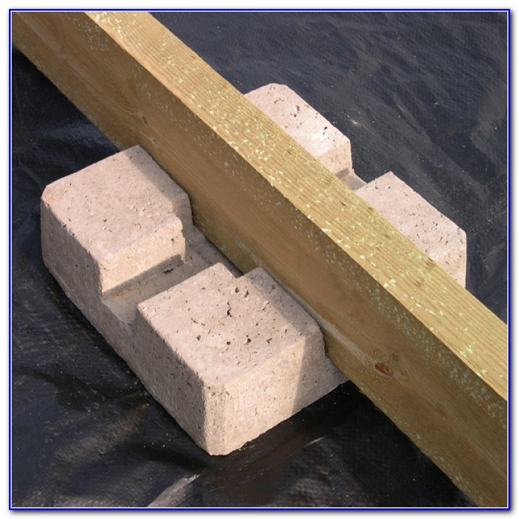 Precast Concrete Deck Pier Blocks