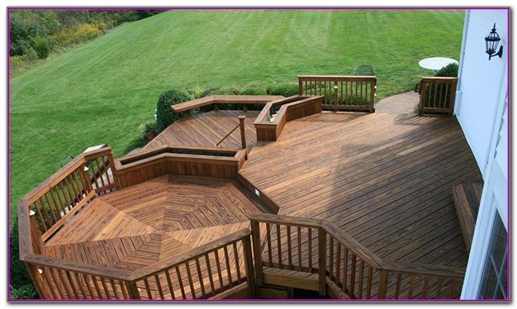 Pressure Treated Lumber Deck