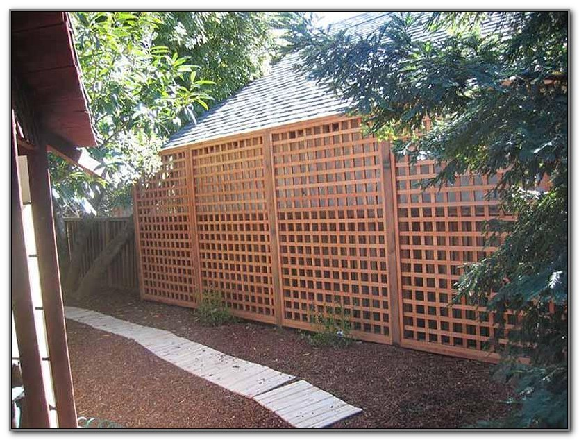 Privacy Fence On Deck