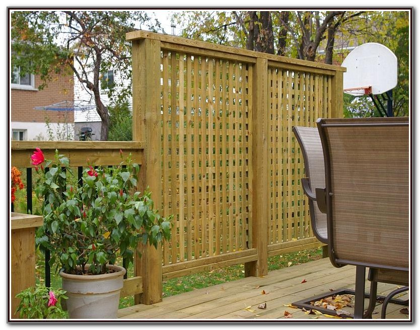 Privacy Screen For Decks Ideas