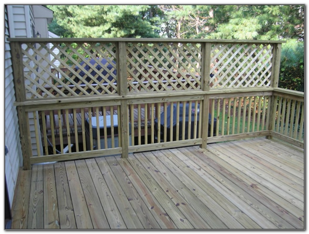Privacy Screen For Decks