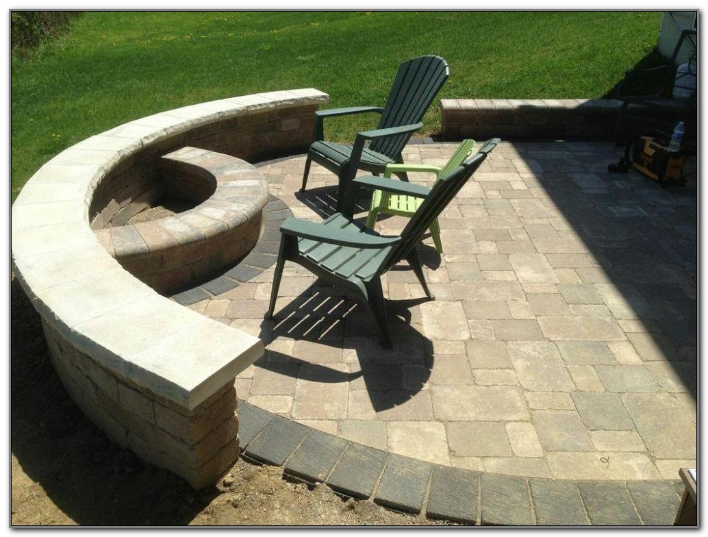 Propane Fire Pit On Wood Deck