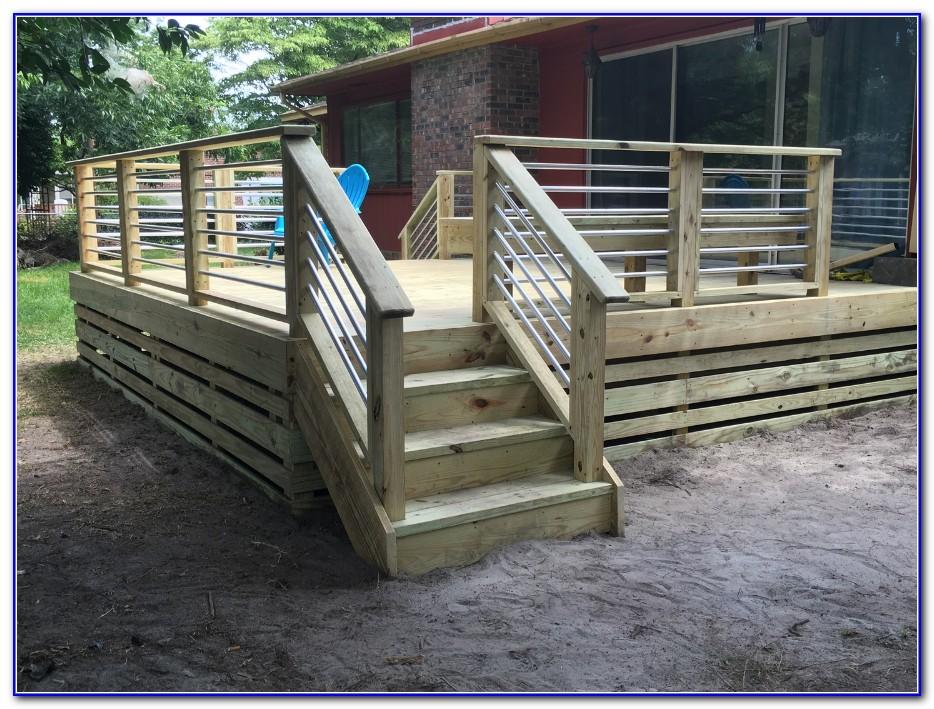 Pvc Pipe Deck Railing