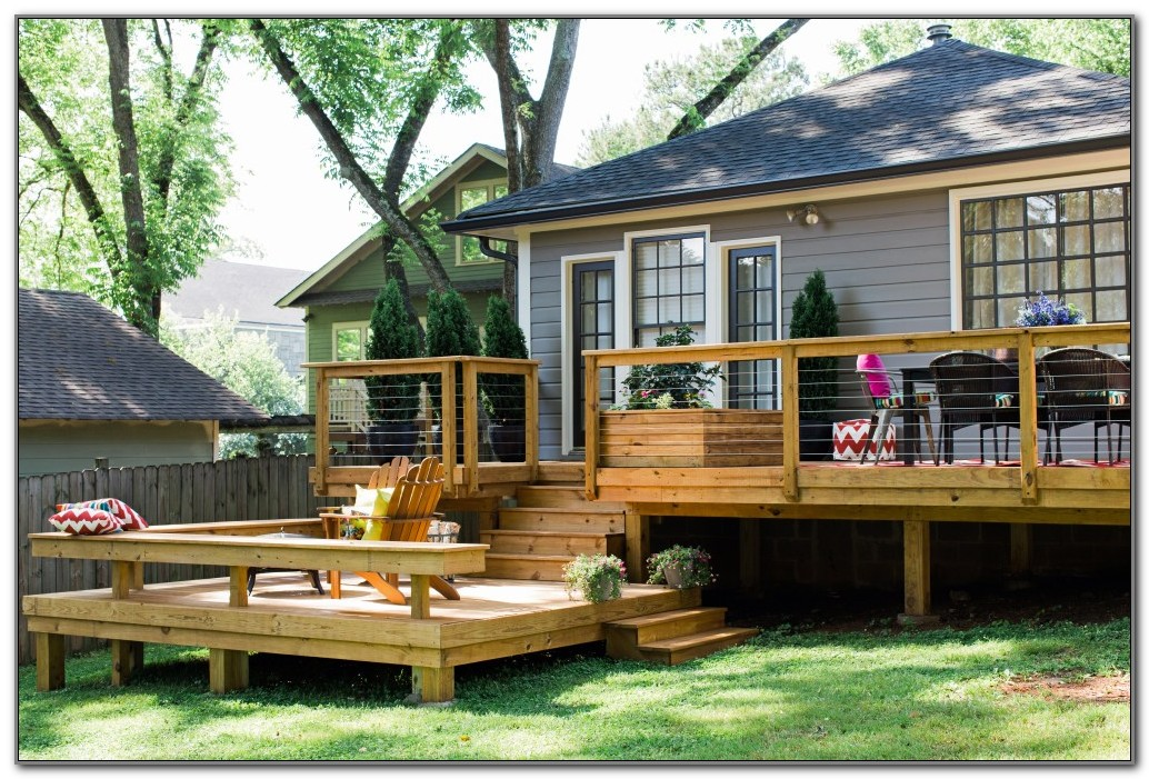 Railing Ideas For A Deck