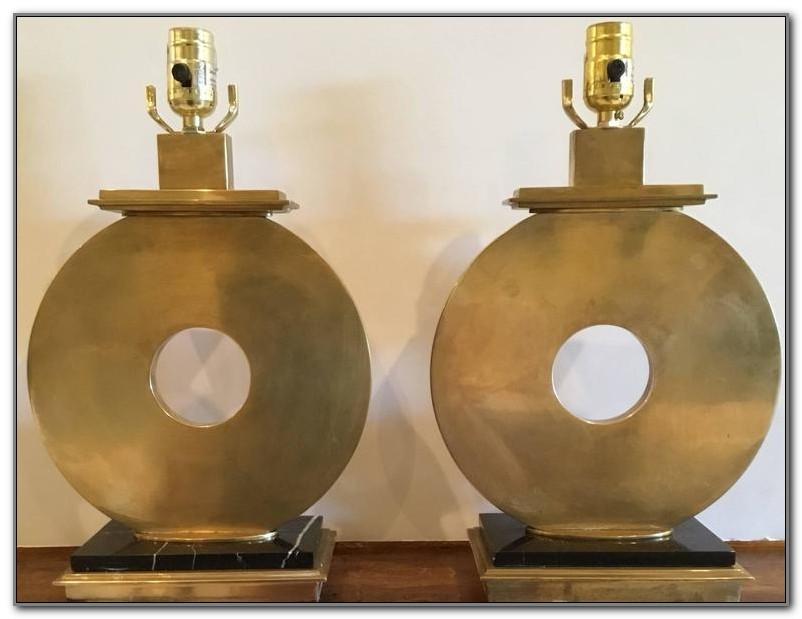 Robert Abbey Brass Table Lamps