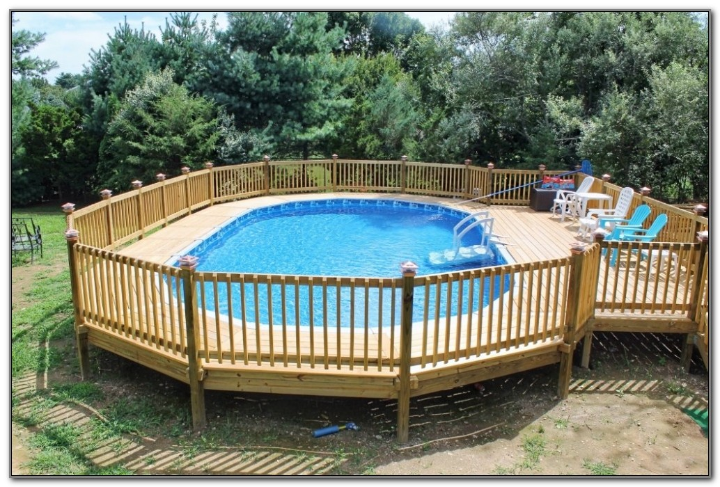 Round Pool Deck Designs